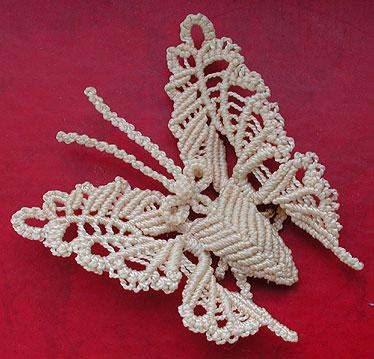 """Одним из таких  """"новшеств """" однажды стало узелковое плетение - макраме."""